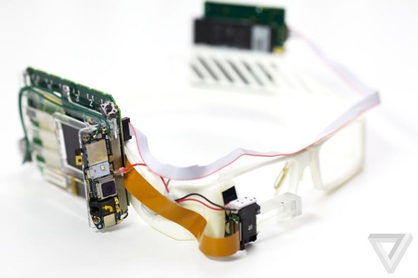 Schermo dei Google Glass